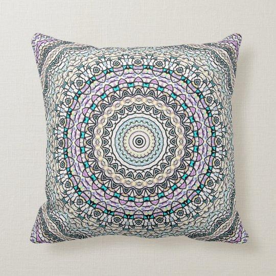 Invert Balance Mandala Throw Pillow