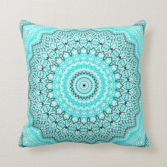 Invert Eve Mandala Throw Pillow