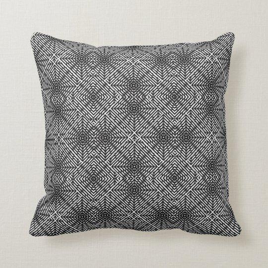 Invert Flux Illusion Throw Pillow