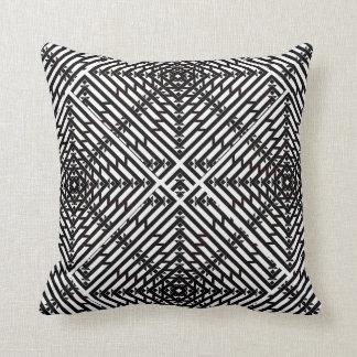 Invert Flux Perspective Throw Pillow