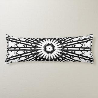 Invert Looking Glass Mandala 2 Body Pillow