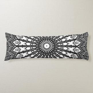 Invert Looking Glass Mandala Body Pillow