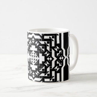 Invert Mirrored Bits Coffee Mug