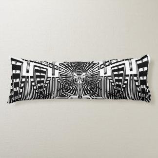 Invert Reflect Cube Body Pillow