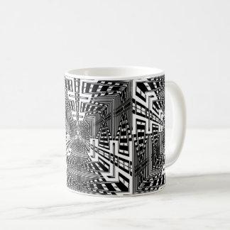 Invert Reflect Cube Coffee Mug