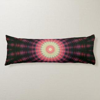 Invert Soundwave Mandala 2 Body Pillow