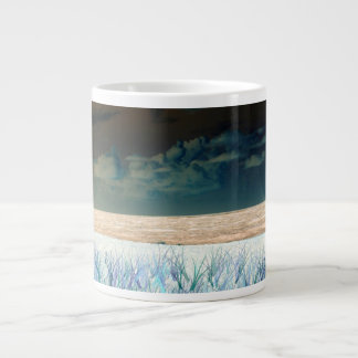 inverted beach sky neat abstract florida shore extra large mugs