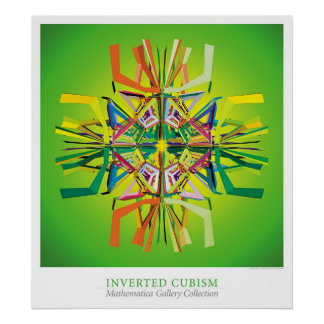 Inverted Cubism Poster