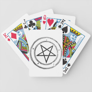 Inverted_Pentacle Bicycle Playing Cards