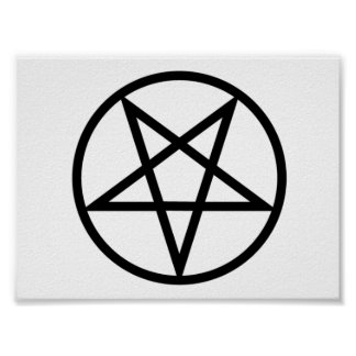 Inverted Pentagram poster