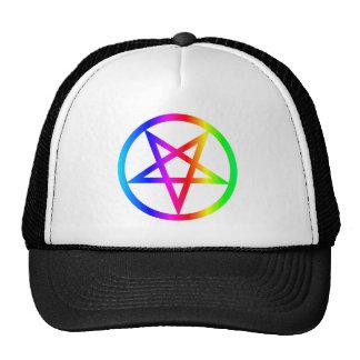 Inverted Pentagram Trucker Hat