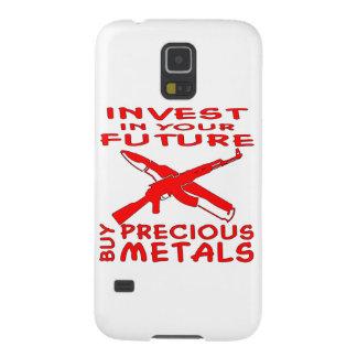 Invest In Your Future Buy Precious Metals (AK47) Galaxy S5 Case