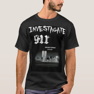 Investagate 911 T-Shirt