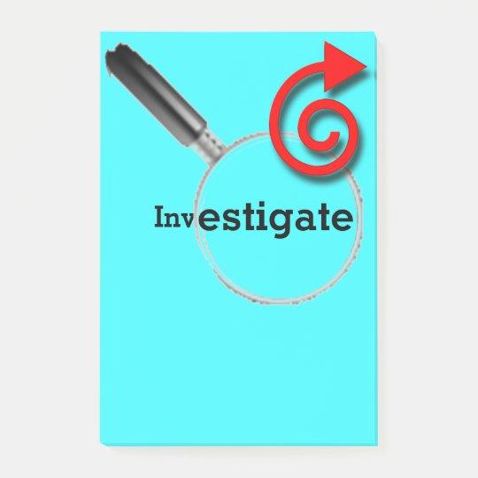 Investigate Post-it® Notes