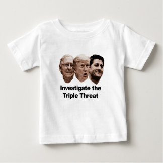 Investigate the Triple Threat Baby T-Shirt