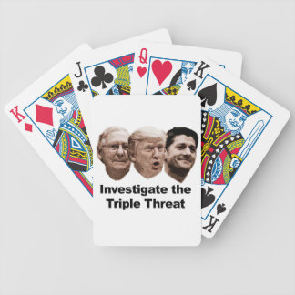 Investigate the Triple Threat Bicycle Playing Cards
