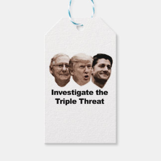 Investigate the Triple Threat Pack Of Gift Tags