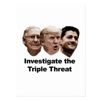 Investigate the Triple Threat Postcard