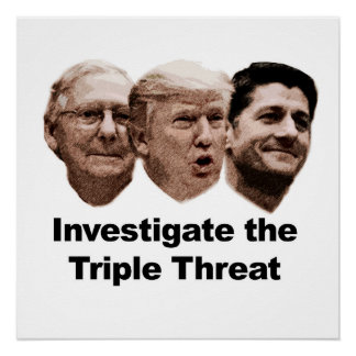 Investigate the Triple Threat Poster