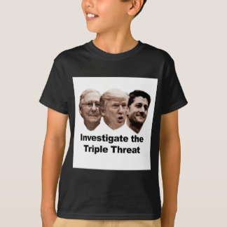 Investigate the Triple Threat T-Shirt