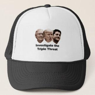 Investigate the Triple Threat Trucker Hat