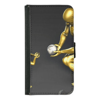 Investing in Our Future Leaders of the World Samsung Galaxy S5 Wallet Case