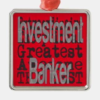 Investment Banker Extraordinaire Metal Ornament