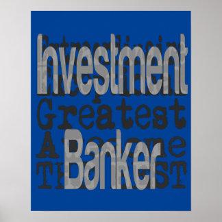 Investment Banker Extraordinaire Poster
