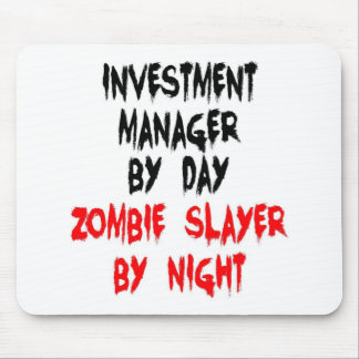 Investment Manager Zombie Slayer Mouse Pad