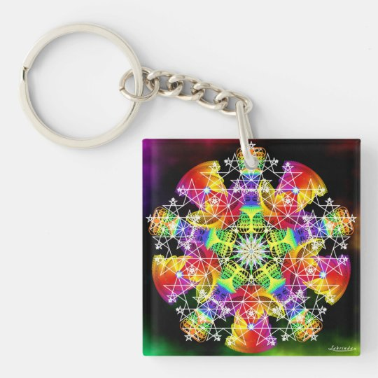 Invigorate/Evolving Beingness Keychain