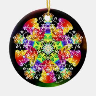 Invigorate/Limitless Dreaming Ceramic Ornament