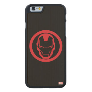 Invincible Iron Man Carved® Maple iPhone 6 Case