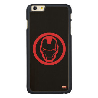 Invincible Iron Man Carved® Maple iPhone 6 Plus Case