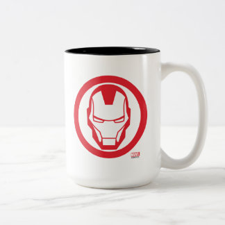 Invincible Iron Man Two-Tone Coffee Mug
