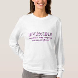 Invincible - with definition T-Shirt