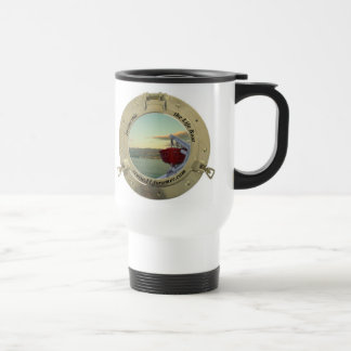 Invinvcible log travel mug