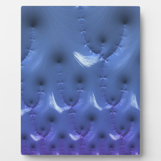 Invisible Conflict of Despair Fractal Plaque