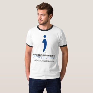 Invisible Disabilities Assoc - Men's Ringer Shirt