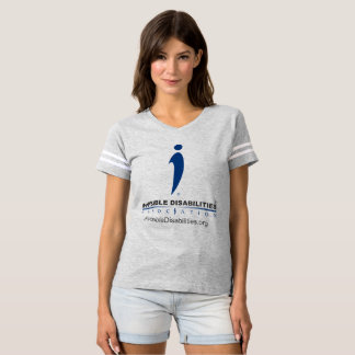 Invisible Disabilities Assoc - Womens Footbl Shirt