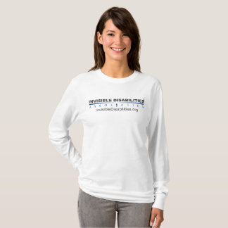 Invisible Disabilities Assoc - Women's LS Shirt