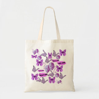 Invisible Illness Collage Tote Bag
