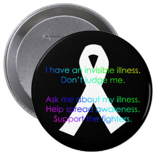 Invisible Illness - Pins