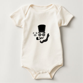 Invisible man baby bodysuit