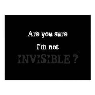 Invisible Postcard