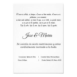 Invitacion Cristiana Para Bodas Color Blanco Invitation