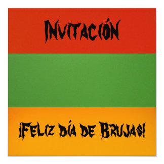 Invitación - día de Brujas de Feliz de ¡ ! Carton D'invitation 13,33 Cm