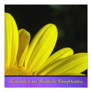 Invitación - Fiesta de Cumpleaños - Margarita Card