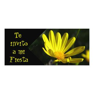 Invitación -Te invito a mi Fiesta - Margarita Card