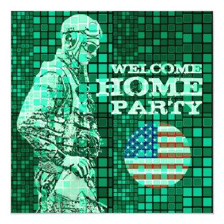Invitation à la maison bienvenue de la partie 1 de