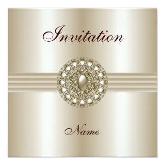 Invitation All Occasions Elegant Pearl Gem 2